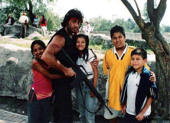 Prawie jak Rambo 1