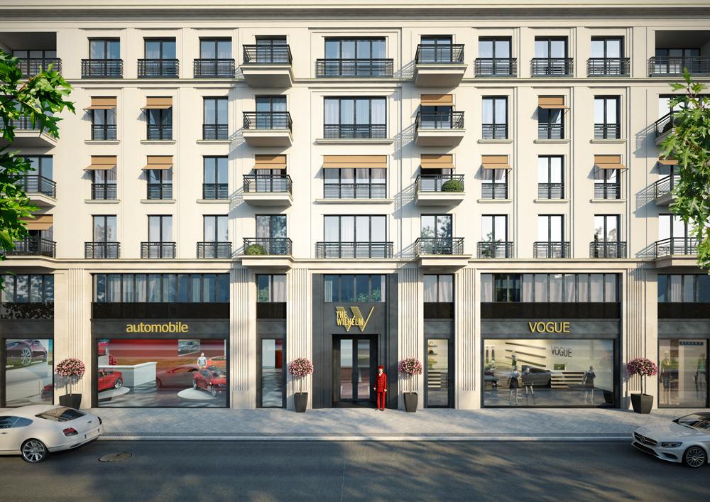 Wilhelmstra e 56 59 the wilhelm berliner architektur urbanistik - Architekturburos in berlin ...
