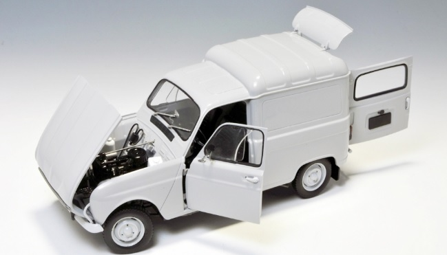 Ebbro 500025003 1 24/Renault 4/Fourgon Nette