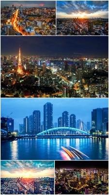 Wonderful Panoramics of Tokyo