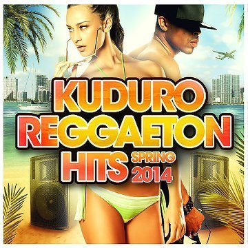 VA - Kuduro Reggaeton Hits: Spring 2014 [4CD] (2014) .mp3 - 320kbps