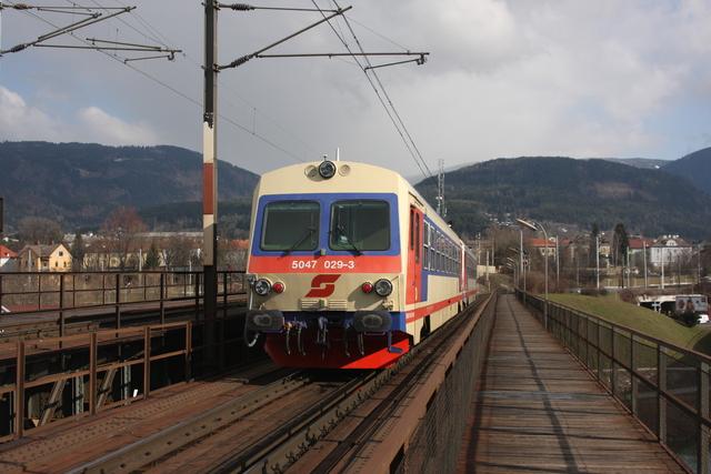5047 029-3 Villach Draubrücke