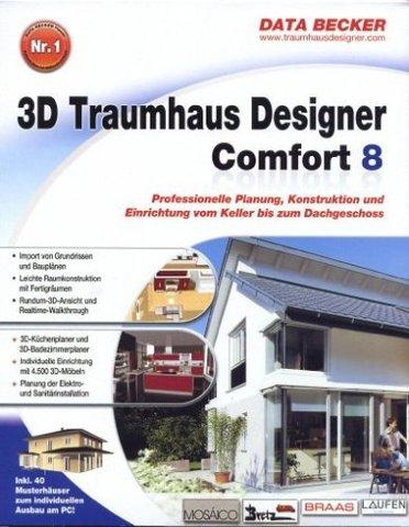 tools data becker 3d traumhaus designer 8 comfort. Black Bedroom Furniture Sets. Home Design Ideas