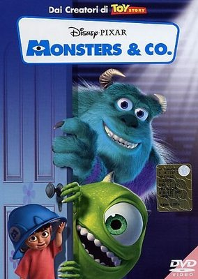Monsters & Co. (2002).Dvd9 Copia - ITA Multi