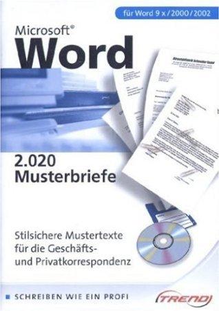 Microsoft Word im Griff: 2020 Musterbriefe u. Vorlagen