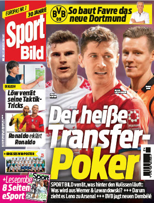 :  Sport Bild Magazin No 24 vom 13 Juni 2018