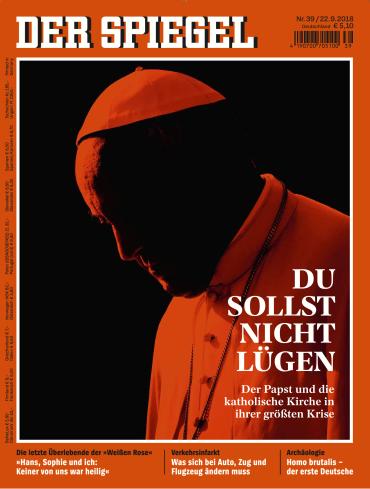 Der Spiegel Magazin No 39 vom 22 September 2018