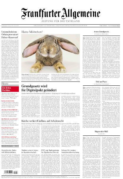 Frankfurter Allgemeine 21 Februar 2019
