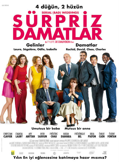 Sürpriz Damatlar – Serial Bad Weddings 2014 BDRip XviD Türkçe Dublaj – Tek Link