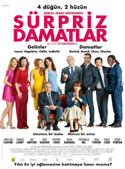 Sürpriz Damatlar – Serial Bad Weddings 2014 BDRip XviD Türkçe Dublaj – Tek Link