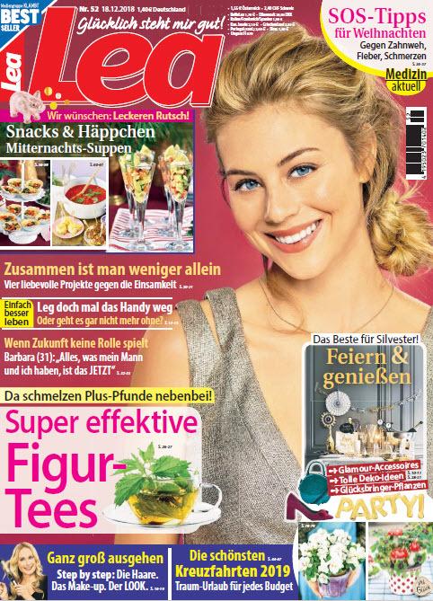 Lea Frauenmagazin No 52 vom 18 Dezember 2018