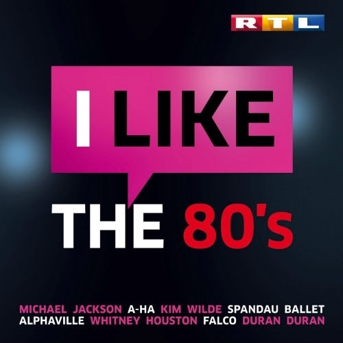 Rtl - I like the 80s (3 cd) (2015)