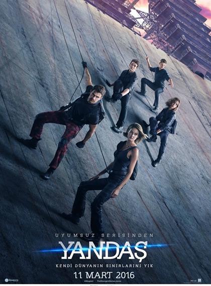 Uyumsuz Serisi: Yandaş - The Divergent Series: Allegiant | 2016 | BRRip XviD | Türkçe Dublaj