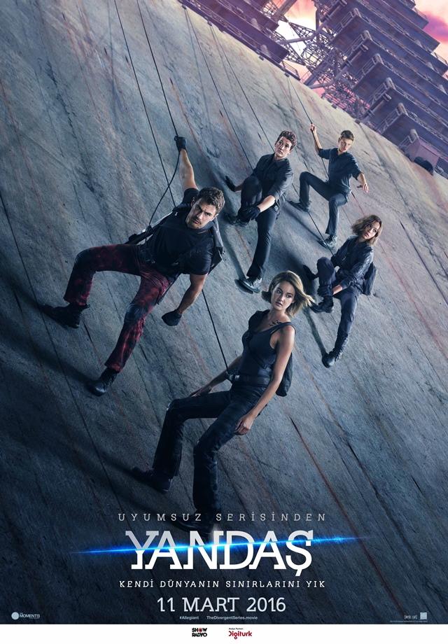 2016 Yapımı Uyumsuz: Yandaş - The Divergent Series: Allegiant Filmi İndir
