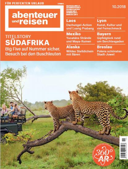 Abenteuer und Reisen Magazin Oktober No 10 2018