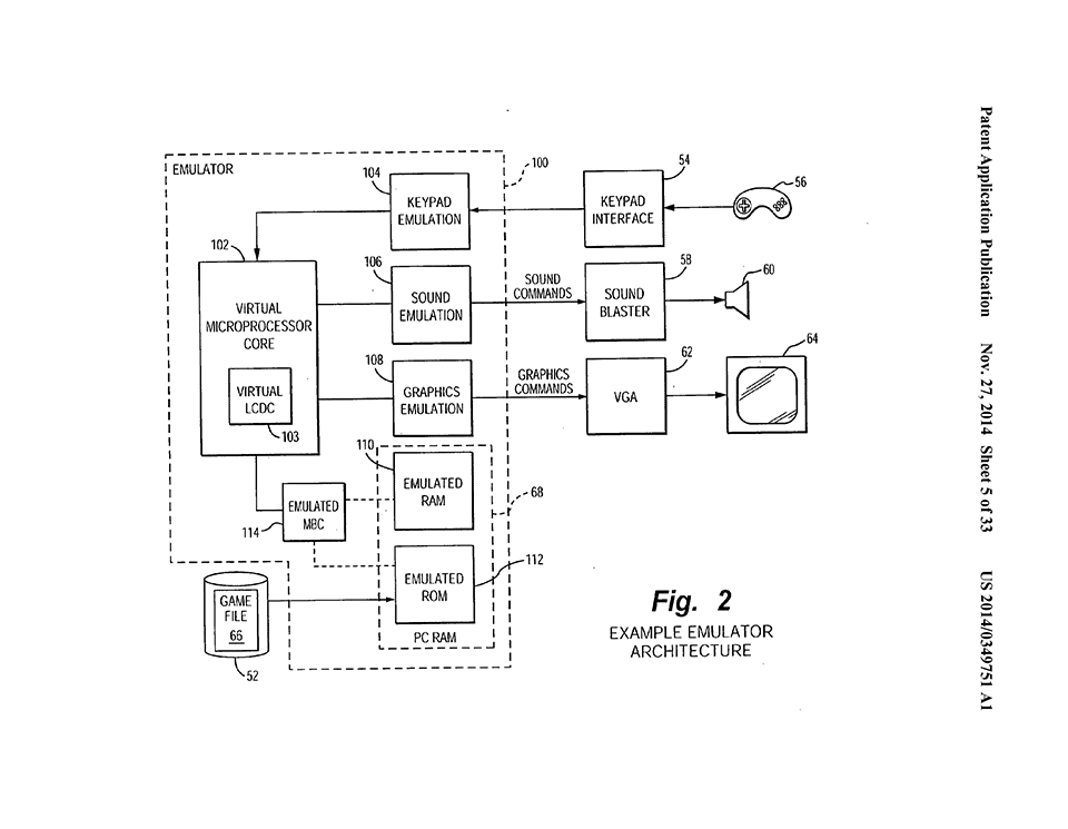 nintendo files patent for game boy emulation on mobile phones  pda u0026 39 s  pc and more