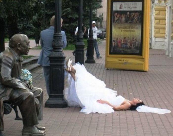 Najdziwniejsze zdjęcia ślubne 8