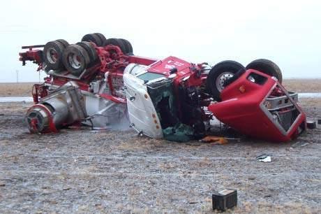Wypadki ciężarówek 28