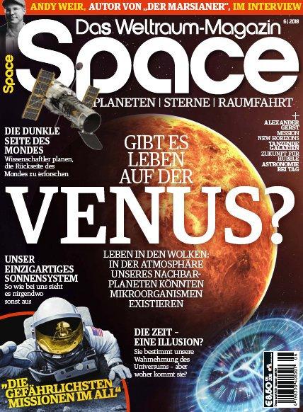 Space Das Weltraum Magazin (Planeten, Sterne, Raumfahrt) November-Dezember No 06 2018