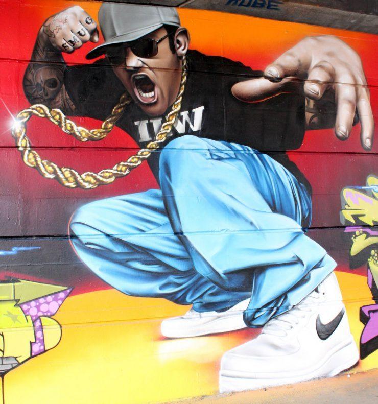 Realistyczny street art 16