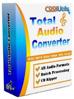 : CoolUtils Total Audio Converter 5.2.150 Multilanguage inkl.German
