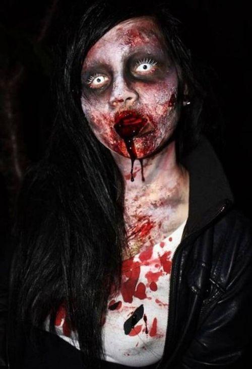 Charakteryzacja na zombie 7
