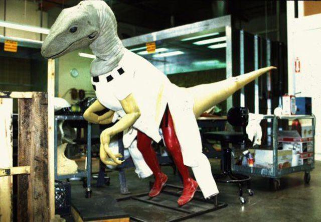 Za kulisami filmów: Jurassic Park 37