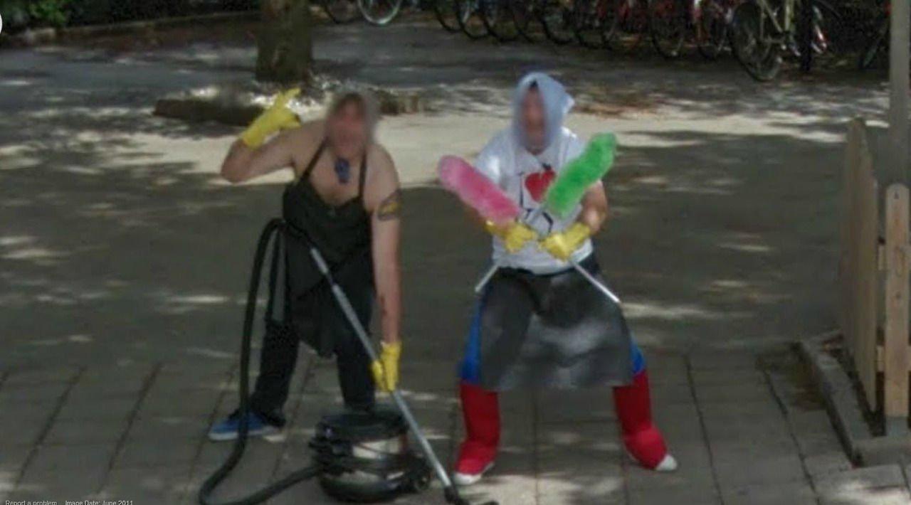 Nietypowe sceny z Google Street View #2 31