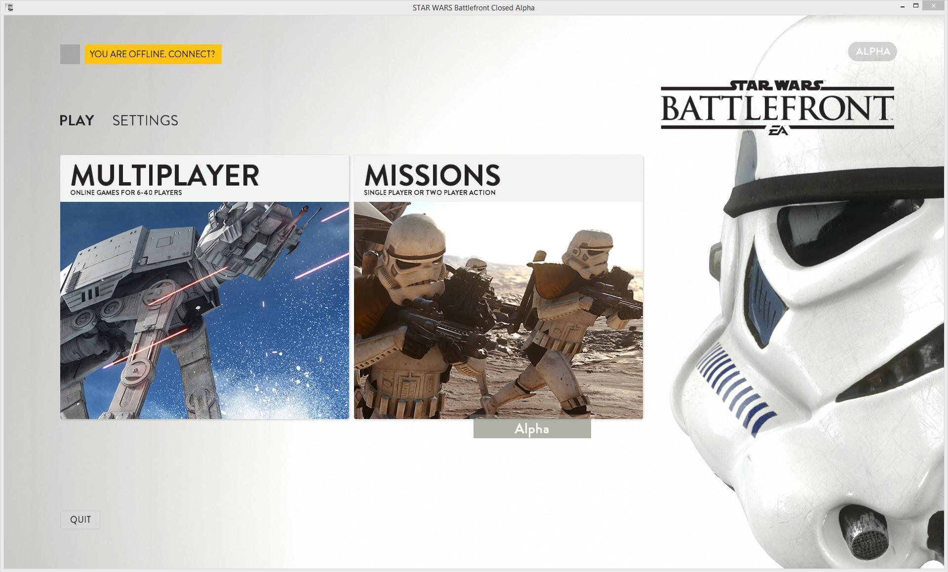 Star Wars Battlefront  Leaked Build