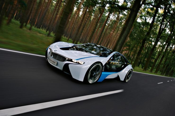 BMW Vision EfficientDynamics Concept 8