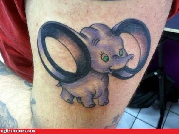 Dziwne i śmieszne tatuaże #2 18