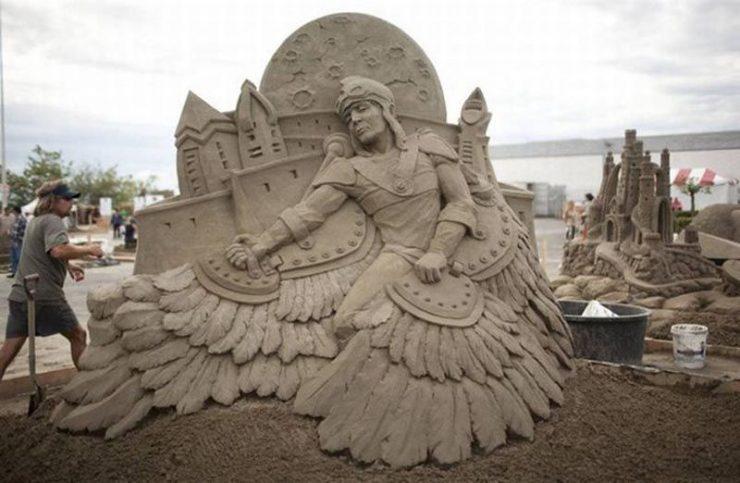 Najlepsze rzeźby z piasku na świecie. 55