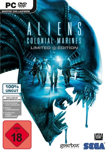Aliens: Colonial Marines Deutsche  Texte, Untertitel, Menüs Cover