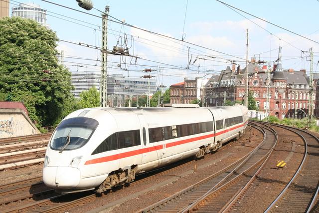 605 010-8 Wertheim Taurnus Hamburg Münzstraße
