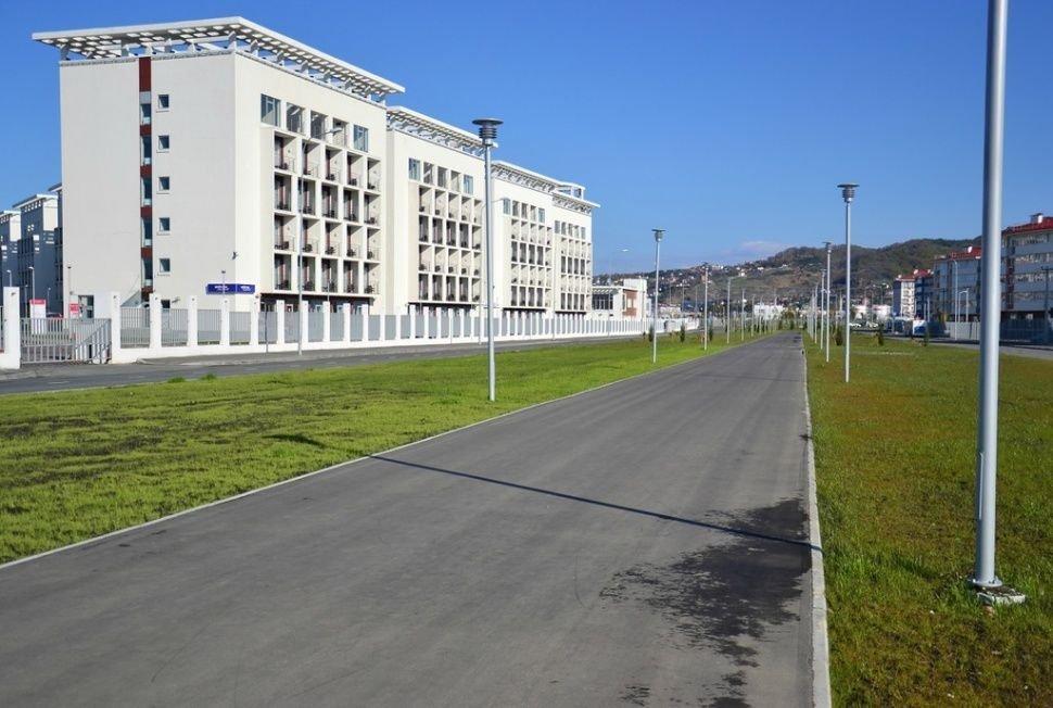 Opustoszała wioska olimpijska w Soczi 4