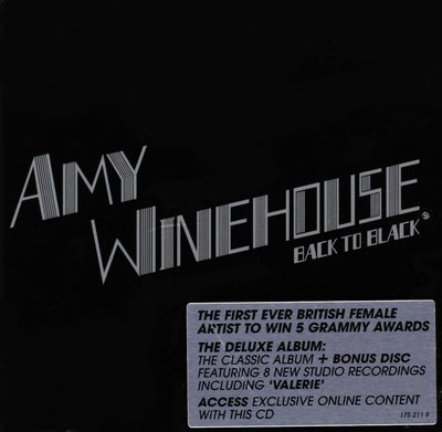 Amy Winehouse - Back To Black (Deluxe Edition 2CD)(2007).Mp3 - 320Kbps