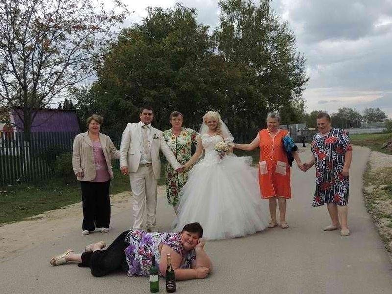 Najdziwniejsze zdjęcia ślubne #4 1