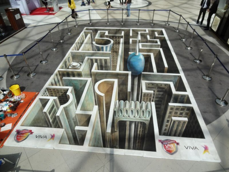 Sztuka uliczna w 3D #2 28