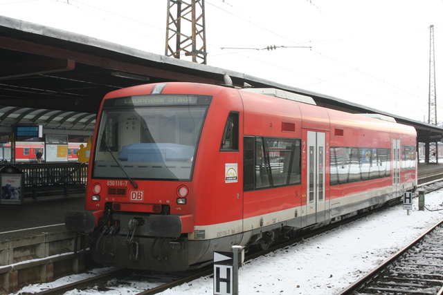 650 116-7 Ulm Hbf