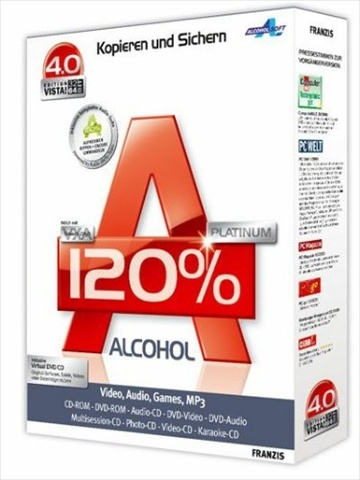 : Alcohol 120% v2.0.3.9326 Retail Multilanguage inkl.German
