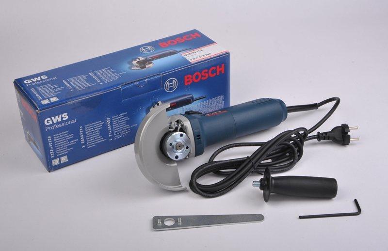 Innovativ NEU! BOSCH GWS 850 CE WINKELSCHLEIFER 850W BLAU 125MM + KARTON +  VK46