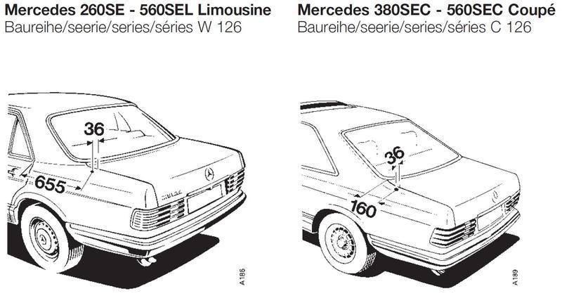 Mercedes C  Radioantenne Einbauanleitung