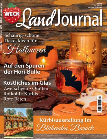 Weck Landjournal September-Oktober No 05 2018
