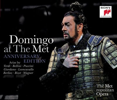 Placido Domingo - Domingo at The Met (3CD Anniversary Edition) (2014) .mp3 - 320kbps