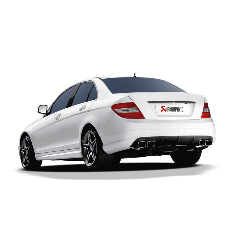akrapovic mercedes c63 amg w204 evolution sportauspuff. Black Bedroom Furniture Sets. Home Design Ideas