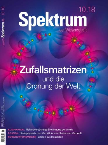 Spektrum der Wissenschaft Magazin Oktober No 10 2018