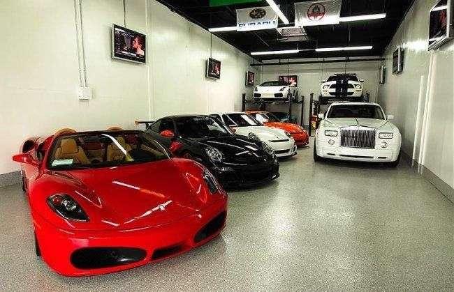 Najdroższy garaż świata 23