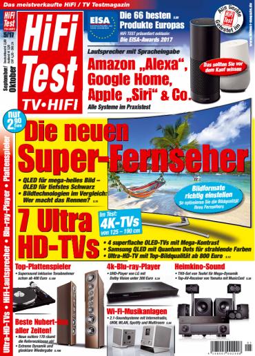 Hifi  Test TV Hifi September-Oktober No 05 2017