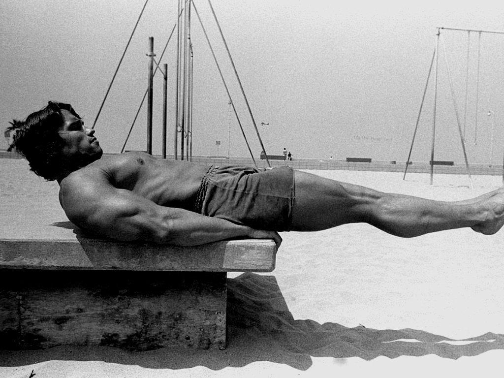 Unikalne zdjęcia - Arnold Schwarzenegger 2