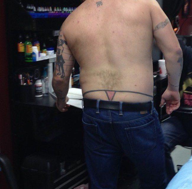 Nieudane tatuaże 15